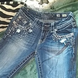 Bling out Miss Me jeans